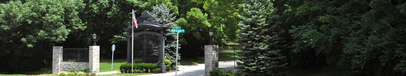 Blue Ridge Front Gate